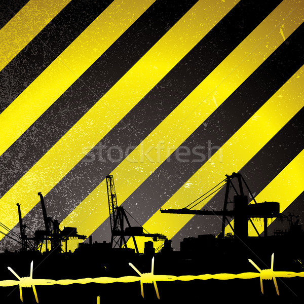 crane stripe Stock photo © nicemonkey