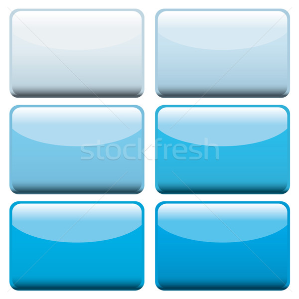 blue web buttons Stock photo © nicemonkey