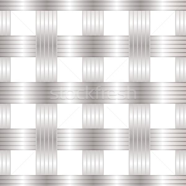 Seamless metal lattice Stock photo © nicemonkey