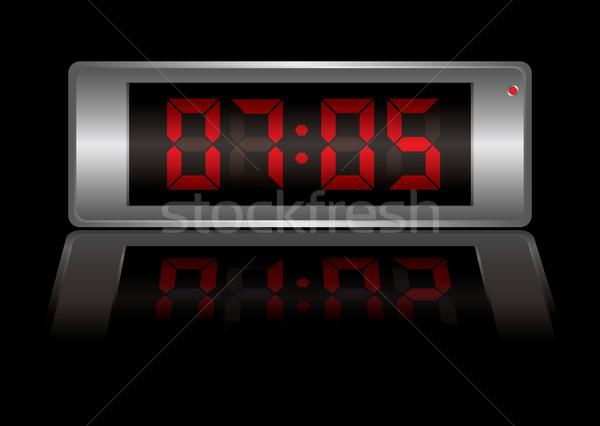 digital alarm clock Stock photo © nicemonkey