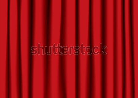 red theater curtain Stock photo © nicemonkey