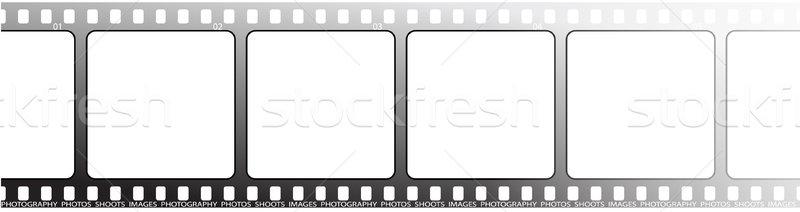 white film outline Stock photo © nicemonkey