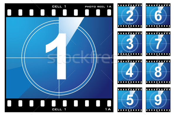 Film cell count down Stock photo © nicemonkey