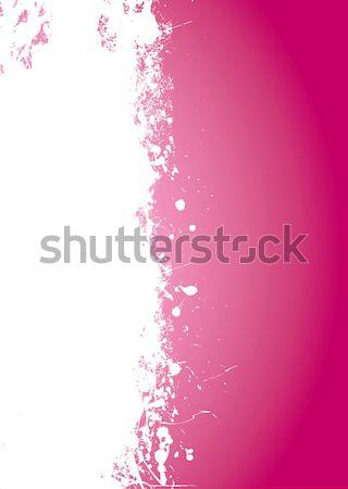 Pink splat grunge Stock photo © nicemonkey