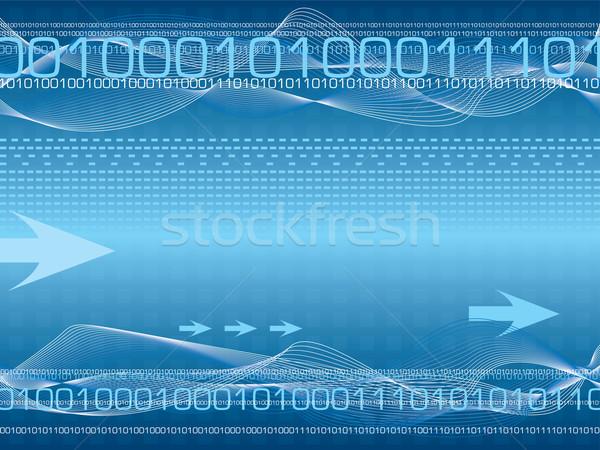 Cyfrowe los streszczenie informacji Internetu Zdjęcia stock © nicemonkey