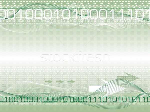 Digitale destino abstract informazioni internet Foto d'archivio © nicemonkey