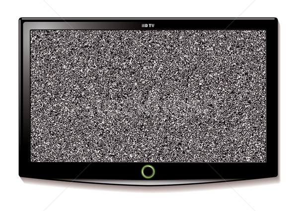 LCD TV Wall hang static Stock photo © nicemonkey