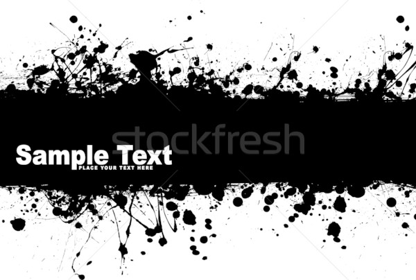 grunge banner ink Stock photo © nicemonkey