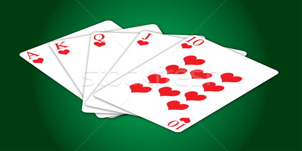 card hand Stock photo © nicemonkey