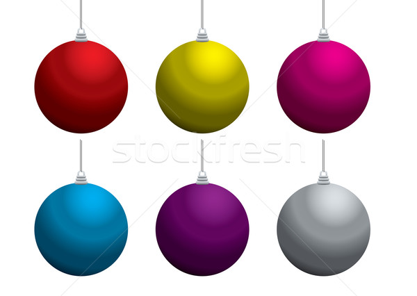 christmas balls Stock photo © nicemonkey