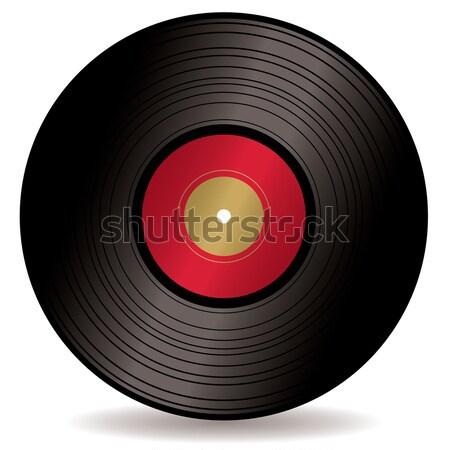 Lp kayıt albüm eski moda uzun oynamak Stok fotoğraf © nicemonkey