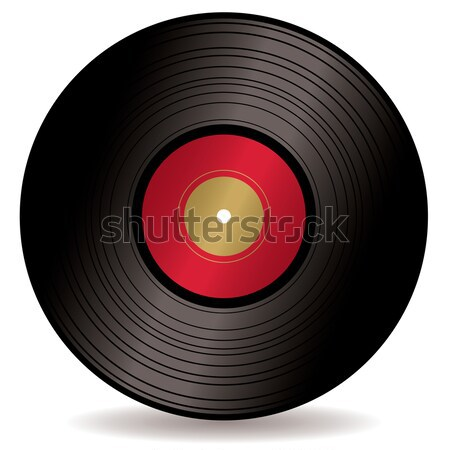 Lp record album ouderwets lang spelen Stockfoto © nicemonkey
