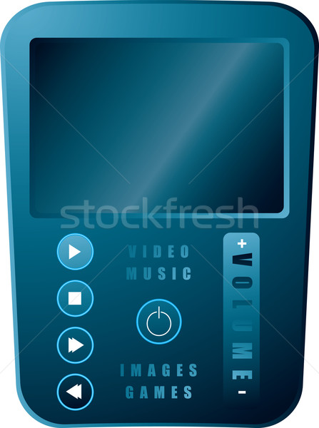 portable media player Stock photo © nicemonkey
