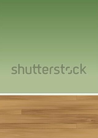 wood floor wall Stock photo © nicemonkey