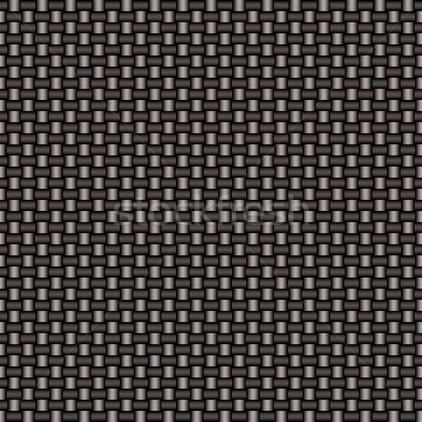 carbon fiber woven link Stock photo © nicemonkey