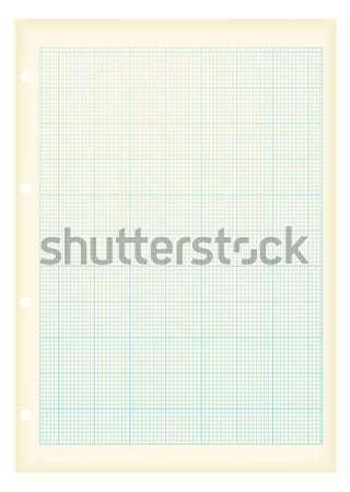 grunge a4 graph paper blue Stock photo © nicemonkey