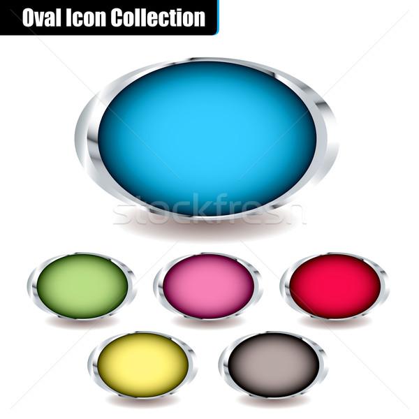 oval collection Stock photo © nicemonkey