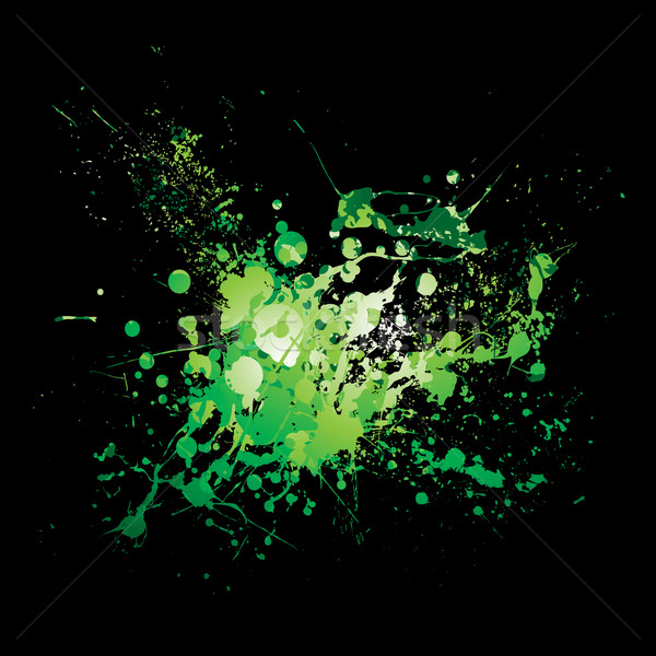 dribble green splat Stock photo © nicemonkey