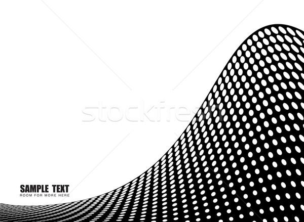 Fali streszczenie ilustracja półtonów pokój Zdjęcia stock © nicemonkey