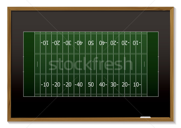 american football blackboard Stock photo © nicemonkey