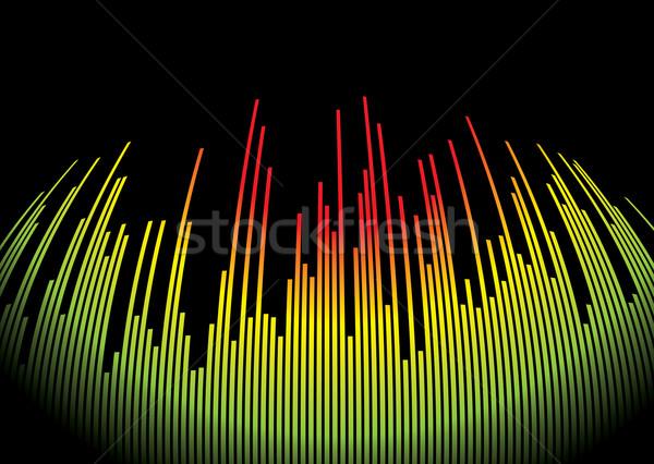 Сток-фото: музыку · горячей · аннотация · музыкальный