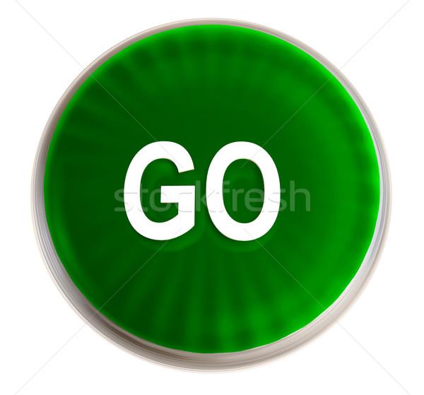 green go button Stock photo © nicemonkey