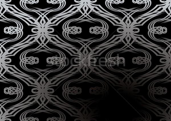silver tangle wallpaper Stock photo © nicemonkey