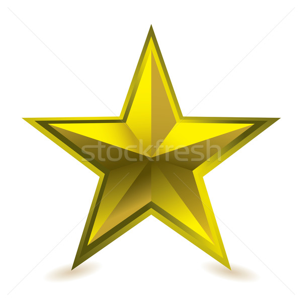 Gold star award Stock photo © nicemonkey