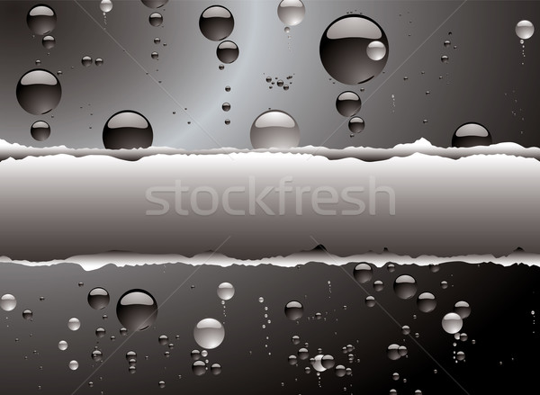 bubble rip white Stock photo © nicemonkey