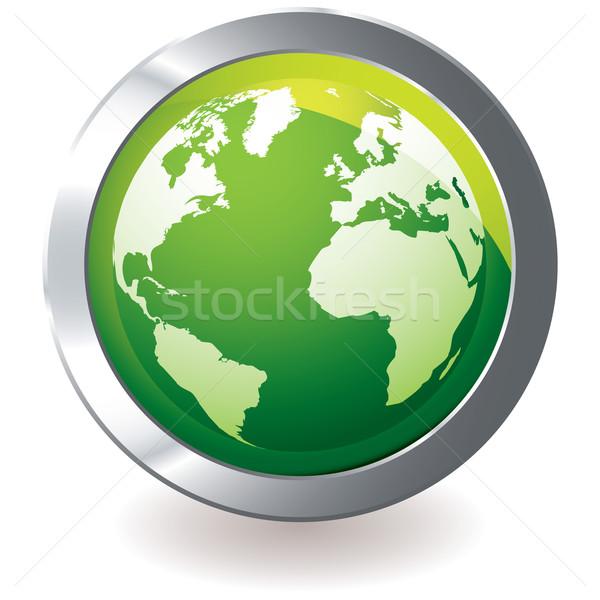 green icon earth globe Stock photo © nicemonkey