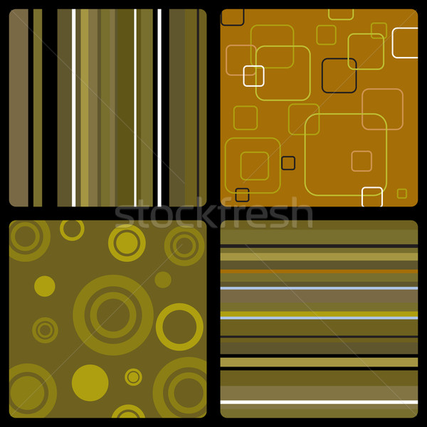 seventies wallpaper brown Stock photo © nicemonkey