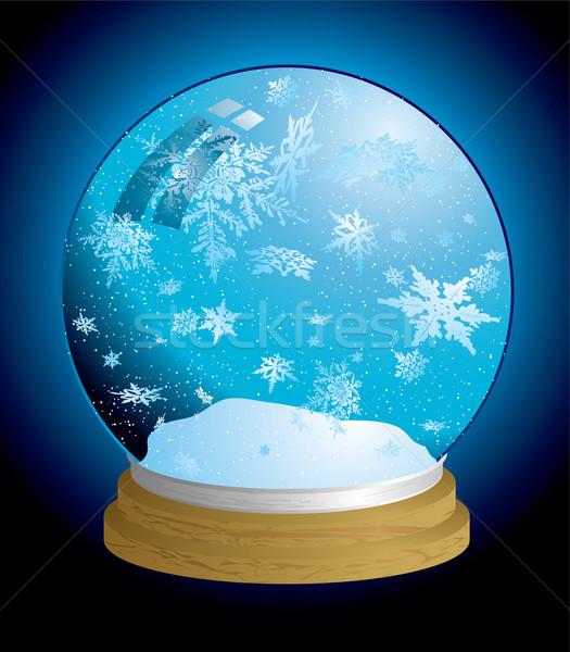 snow globe light Stock photo © nicemonkey