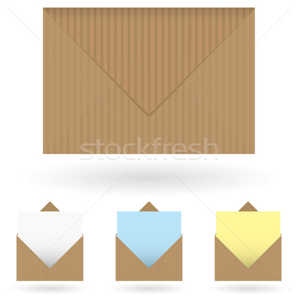 envelopes brown Stock photo © nicemonkey