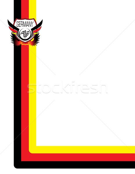 Duitsland abstract gebruikt presentatie project aarde Stockfoto © nicemonkey