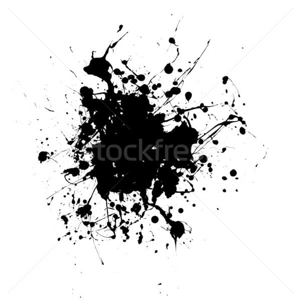 rounded splat splat Stock photo © nicemonkey