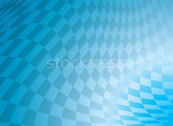 checkered blue Stock photo © nicemonkey