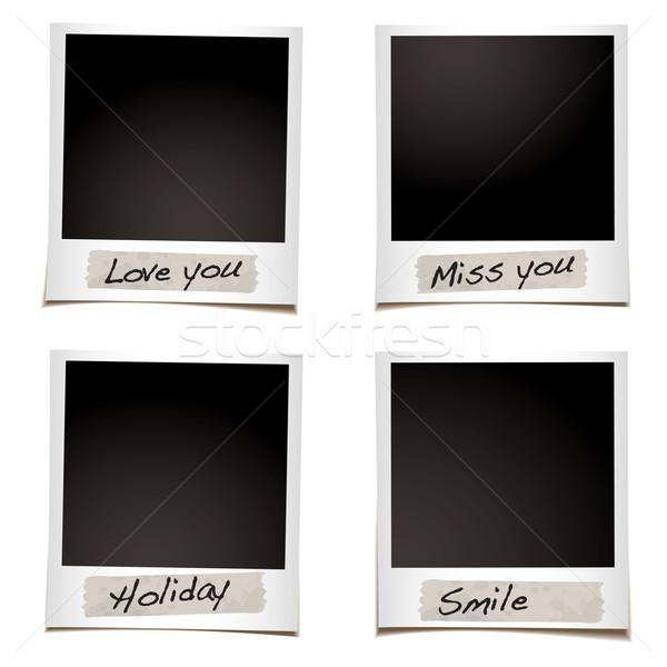 Uczucia natychmiastowy taśmy specjalny strony Zdjęcia stock © nicemonkey