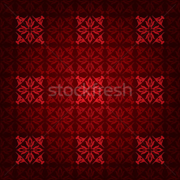 red square victorian Stock photo © nicemonkey