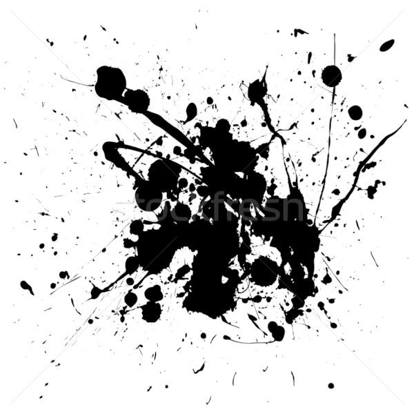 black splat ink Stock photo © nicemonkey