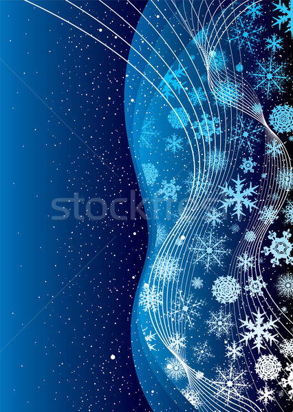 christmas cobalt Stock photo © nicemonkey