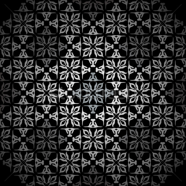Diamant silber tapete fliese hintergrund muster for Black and silver 3d wallpaper