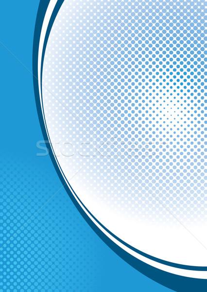 halftone background blue Stock photo © nicemonkey