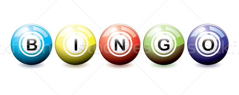 Bingo balls Stock photo © nicemonkey