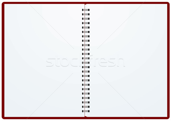 double ring binder cover Stock photo © nicemonkey