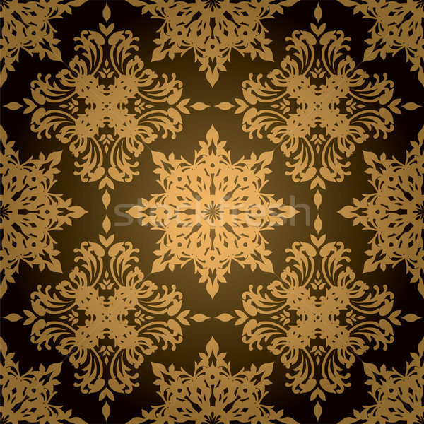 gothic gold leaf Stock photo © nicemonkey