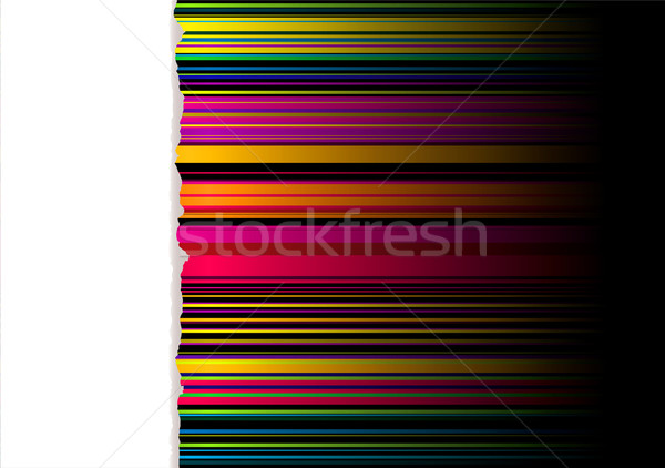 Arco iris lacrimógenos luz a rayas cinta blanco Foto stock © nicemonkey