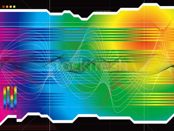 space outlook rainbow Stock photo © nicemonkey