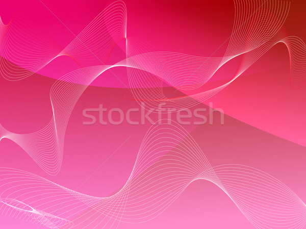 wave background red Stock photo © nicemonkey