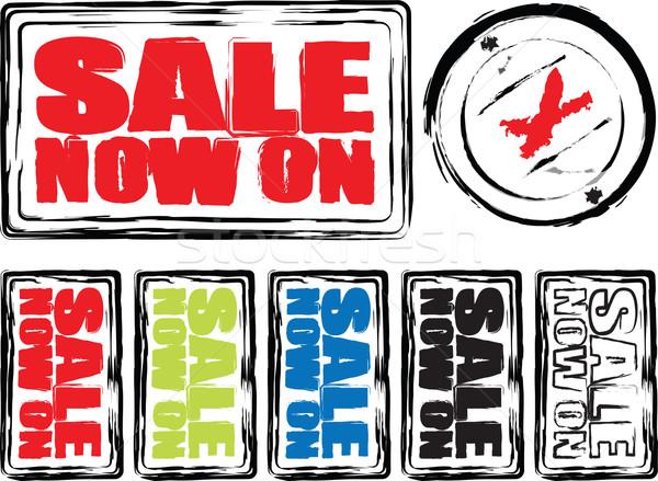 sale oblong colours Stock photo © nicemonkey