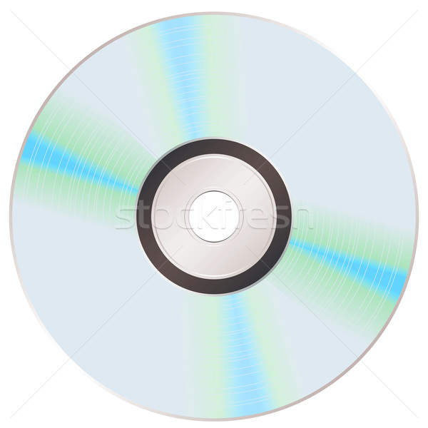 shiny rainbow cd Stock photo © nicemonkey